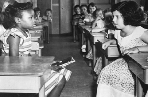"""the importance of the brown v board of education to the civil rights movement in america Board of education decision and its importance to education and the civil rights movement by reading and discussing the historic front page of the new york times from may 17, 1954, """"high court bans school segregation 9-to-0 decision grants time to comply""""."""